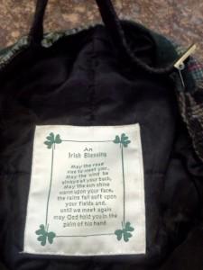 Irish, Prayer